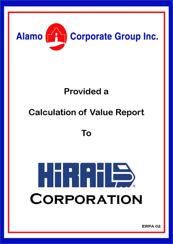 HiRAIL Corp.