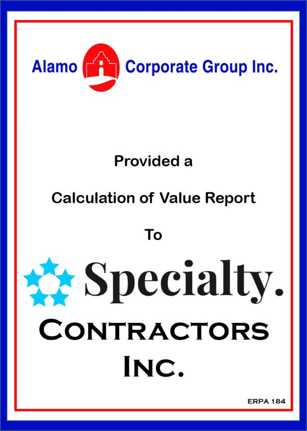 Speciality Contractors