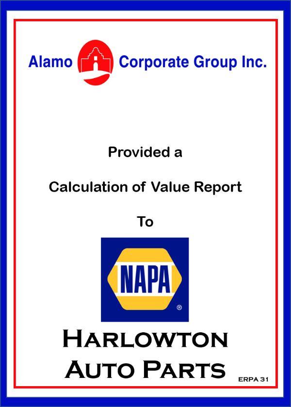Napa Harlowtown Auto Parts