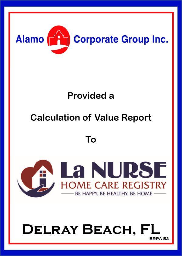 La Nurse Home Care Registery