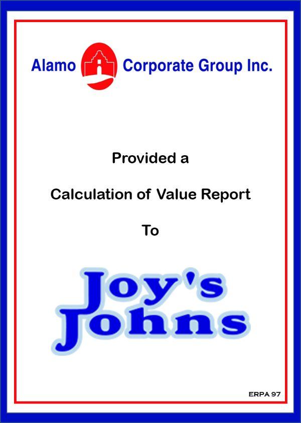 Joy's Johns