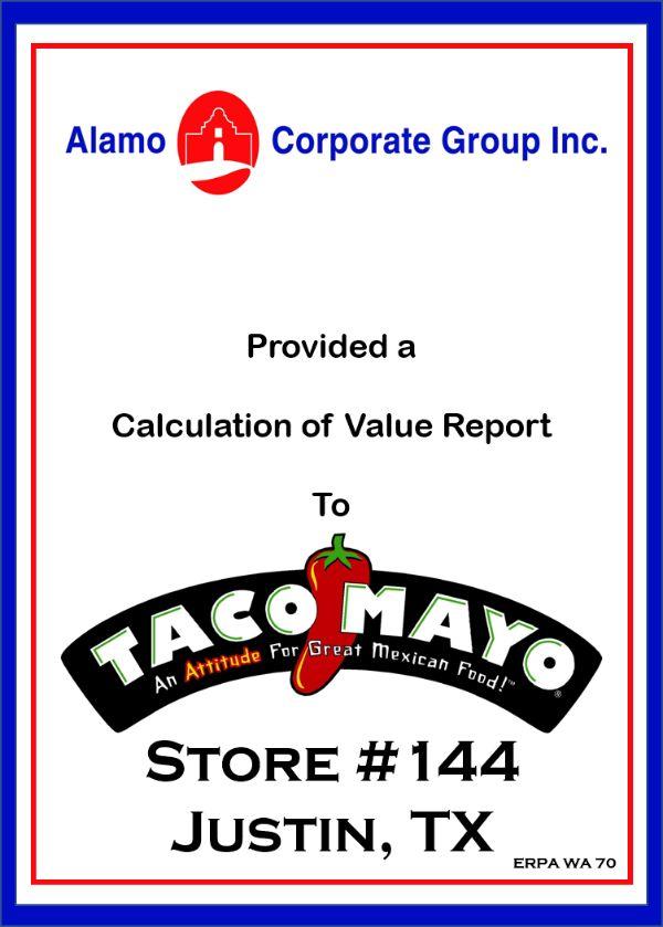 Taco Mayo #144