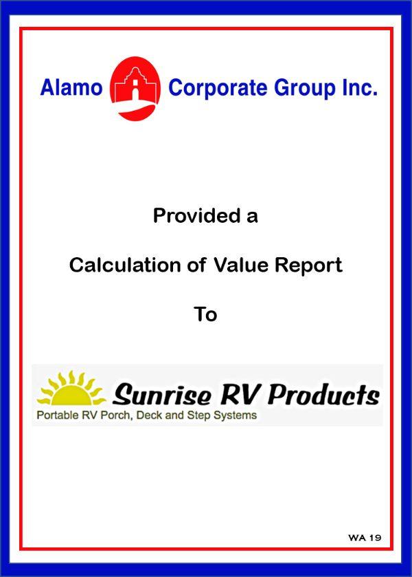 Sunrise RV Products