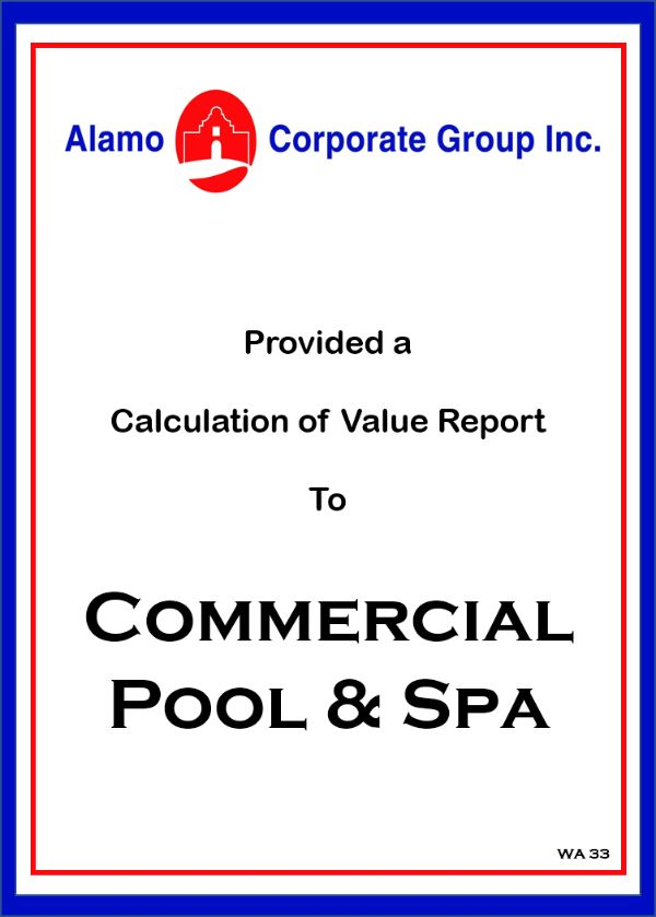 Commercial Pool & Spa