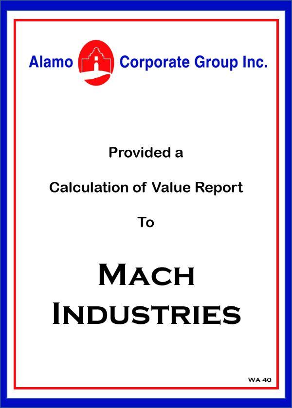 Mach Industries