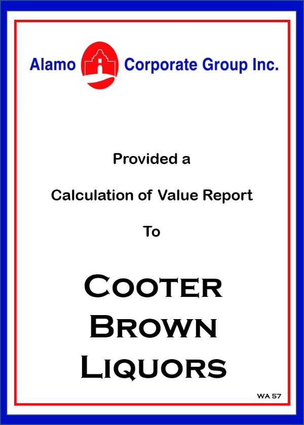 Cooter Brown Liquors