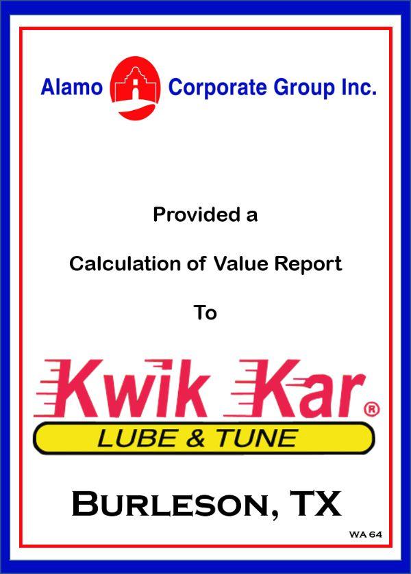 Kwik Kar Lub & Tune – Burleson, TX