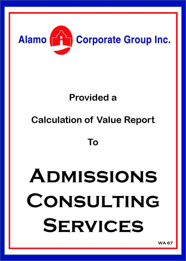 Admissions Consulting Services