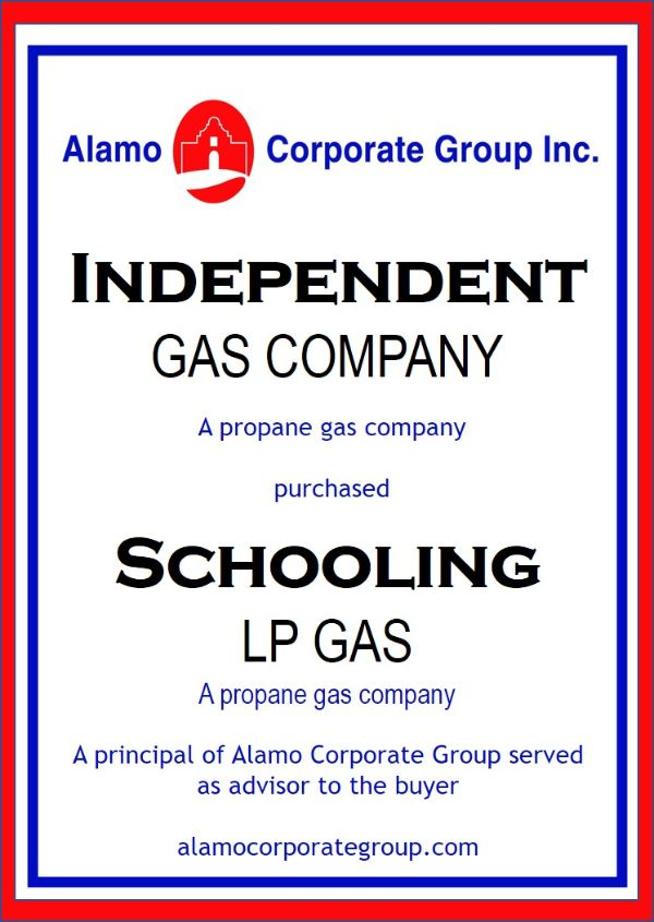 Schooling LP Gas