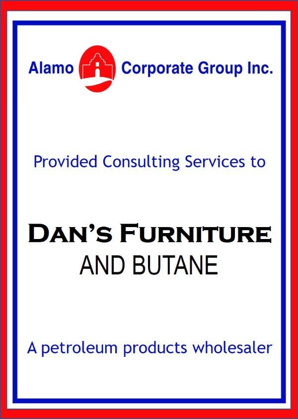 Dan's Furniture and Butane