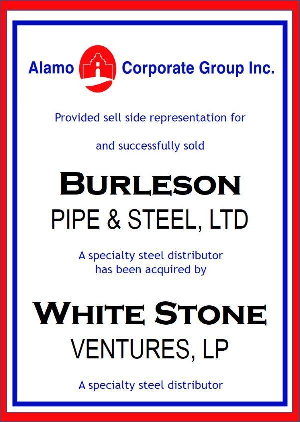 Burleson Pipe & Steel, LTD