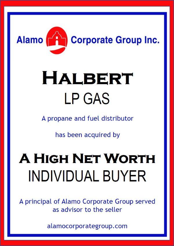 Halbert LP Gas