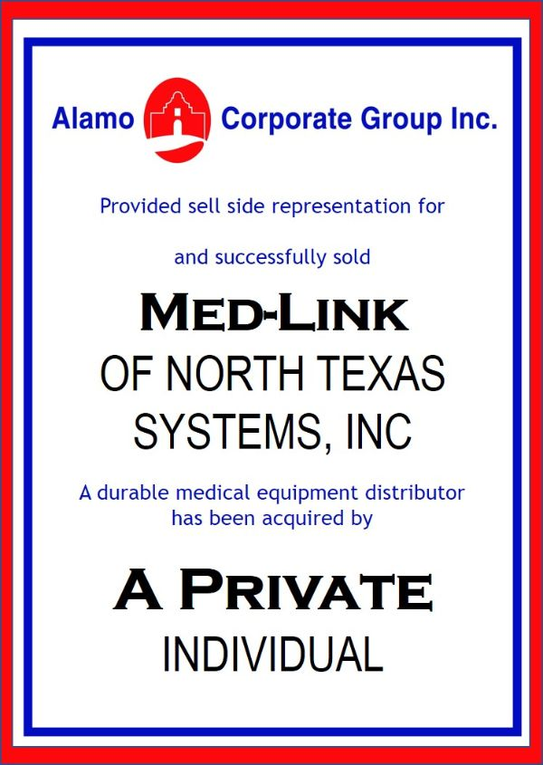 Med-Link of North Texas Systems, Inc
