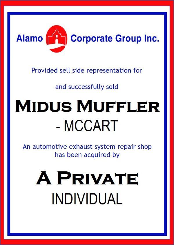 Midas Muffler – McCart