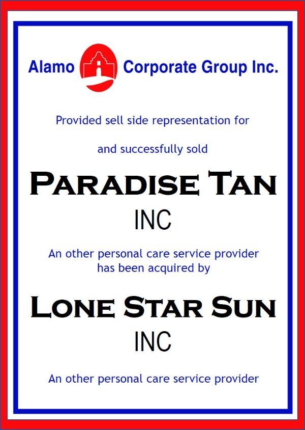 Paradise Tan, Inc