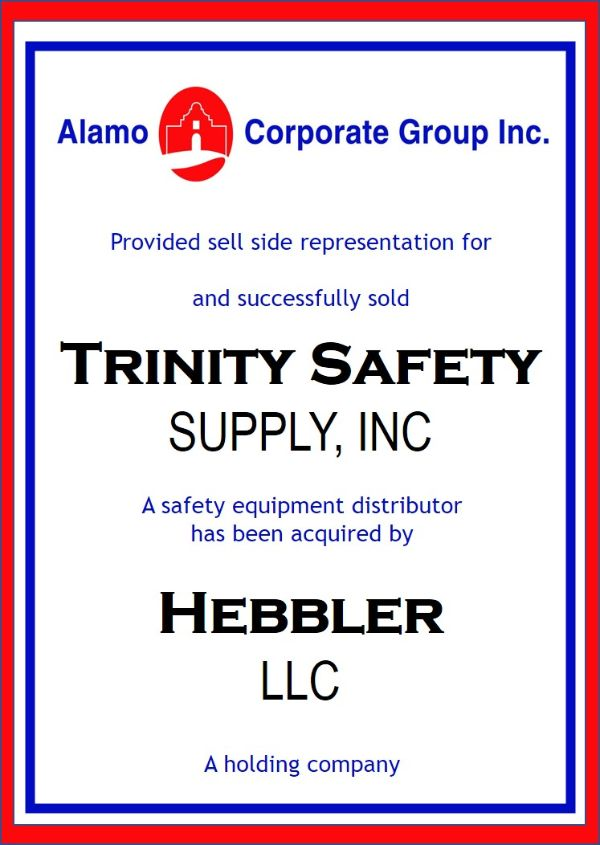 Trinity Safety Supply, Inc.