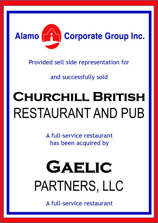 Churchill British Restaurant and Pub