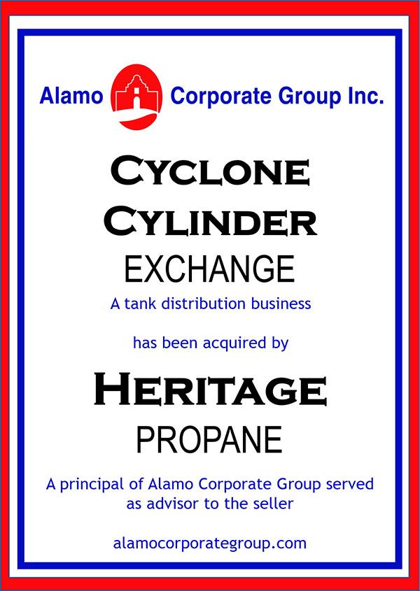 Cyclone Cylinder Exchange