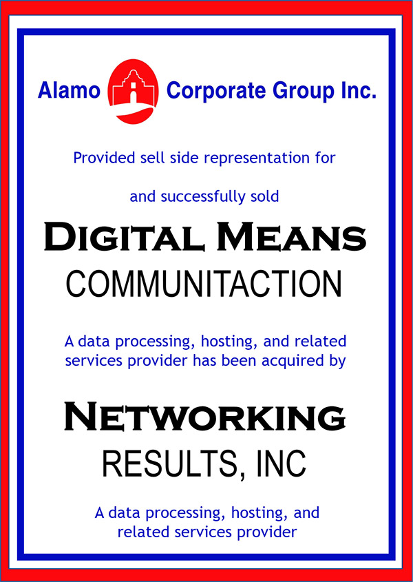 Digital Means Communication